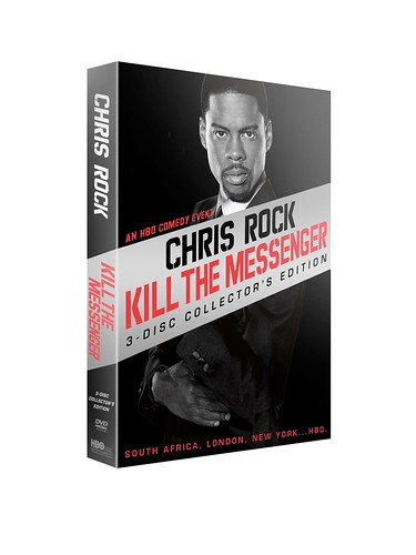 Chris Rock Kill The Messenger 3 Disc Collector's Edition