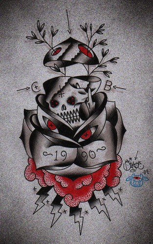 tattoo flash/design (Set) · Tattoos (Group) · Skulls (Group)