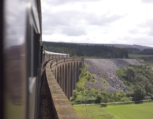 Train Chartering - Royal Scotsman on viaduct