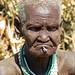 Tribal looks: Nyangatom lady at Kangate