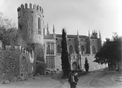 Monasterio de San Juan de Los Reyes (Toledo) el 9 de octubre de 1967. Fotografía de Eduardo Butragueño Bueno