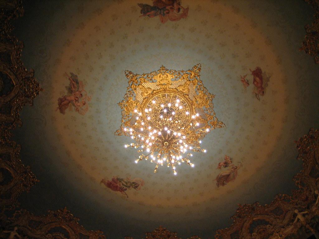 Ceiling of La Fenice