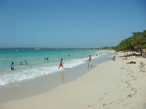 Playa Blanca, Isla Barú - Colombia.