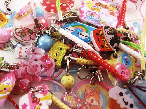 Kawaii Cell Phone Straps