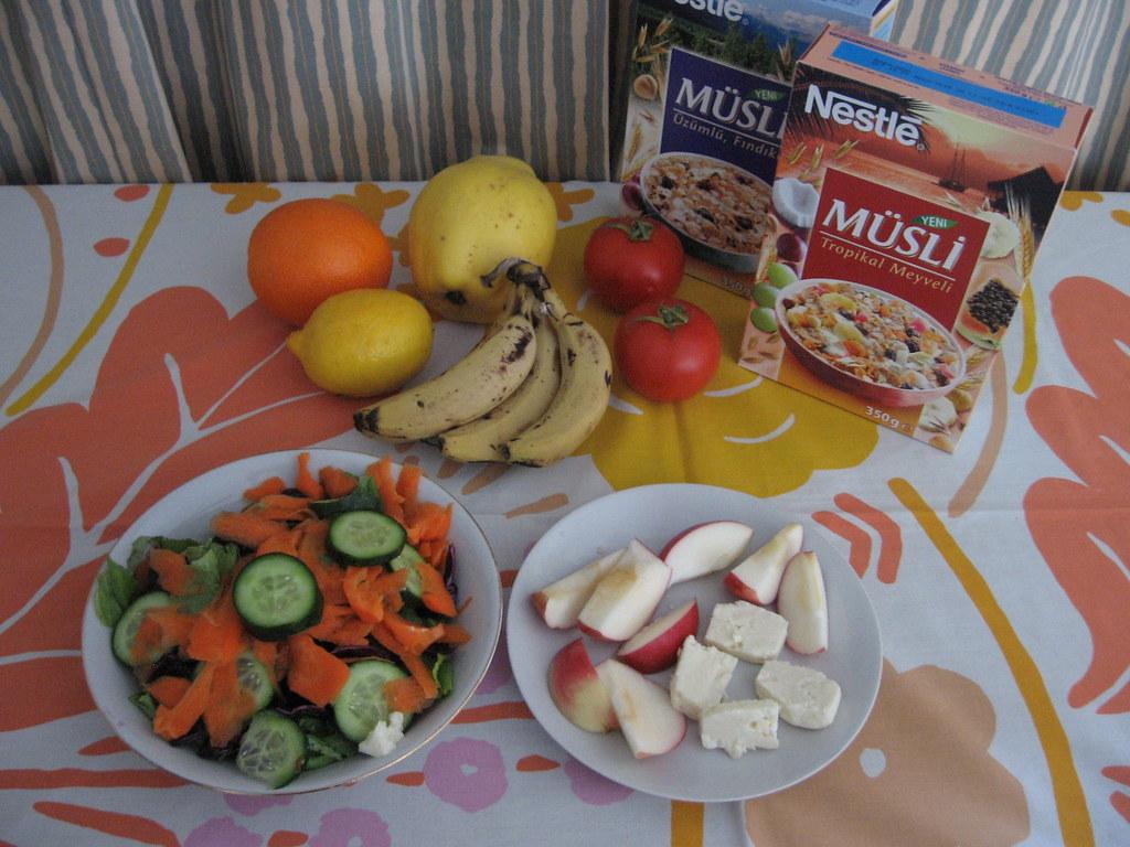 Healthy eating in Turkey