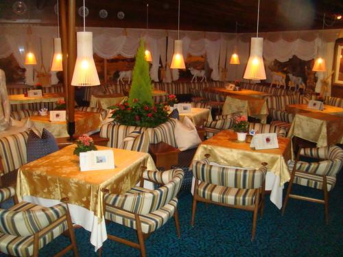 Vista principal del salón-comedor