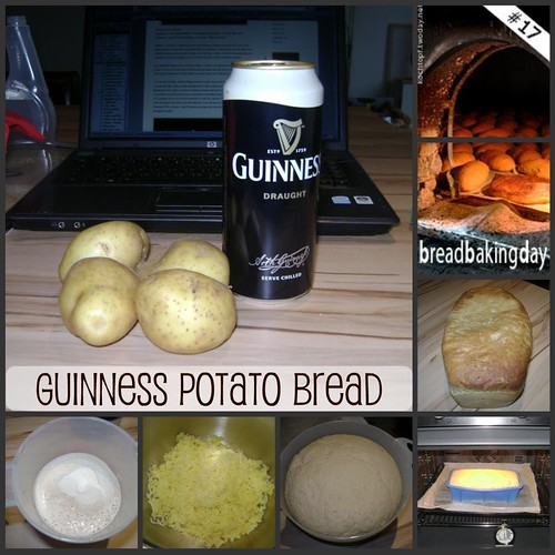 BBD #17 Guinness Potato Bread