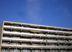 Everyone Watches TV (klar!!) Tags: sky building hungary satelite kecskemet