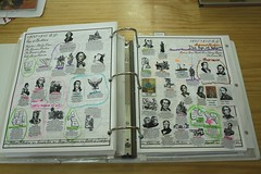 notebook timeline