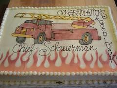 chief scheuerman (Josef's Vienna Bakery) Tags: vienna party food cake dessert marisa nevada tahoe bakery reno congratulations sparks retirement airbrush hess josefs marisahess