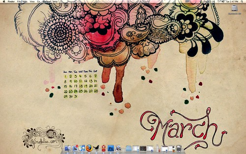 March desktop - demo