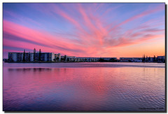 PINK! Sky (Fraggle Red) Tags: pink blue sunset clouds evening florida dusk jpeg hdr aventura canonefs1022mmf3545usm naturesfinest 3exp golddragon infinestyle miamidadeco dphdr guasdivinas cffaa littlemaulelake ne183rdstreet