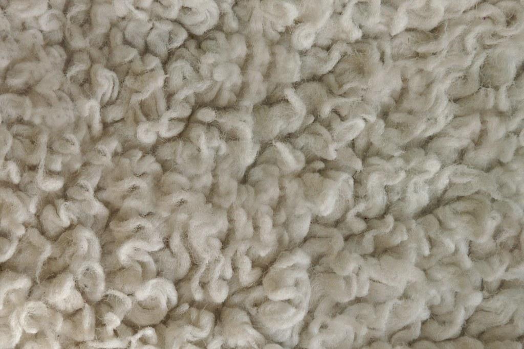 Matted carpet texture