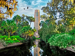 Bok Tower, Florida boost (Mister Joe) Tags: tower art gardens mystery fairytale forest photoshop tampa golden interesting nikon florida magic peaceful joe conservatory fantasy dreams bok glowing magical dreamland hdr leelawrie boktower boktowergardens d80 nikon80 miltonmedary
