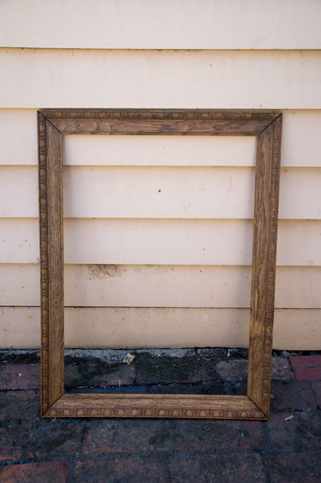 $5 wooden carved frame