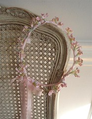 Shabby Hair Wreath par such pretty things