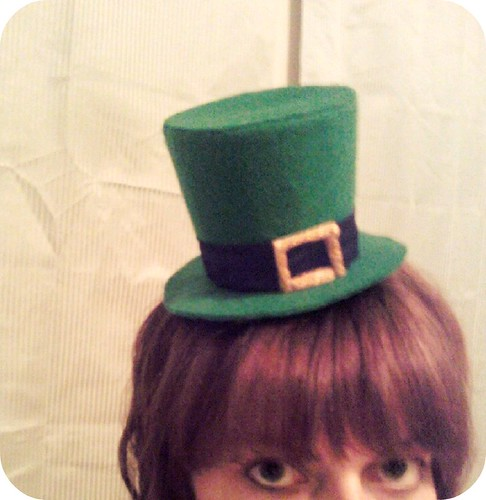 tiny leprechaun hat