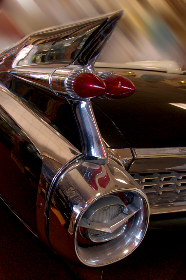 1959 Cadillac Eldorado, with fins. Via Flickr cc Bill Gracey.