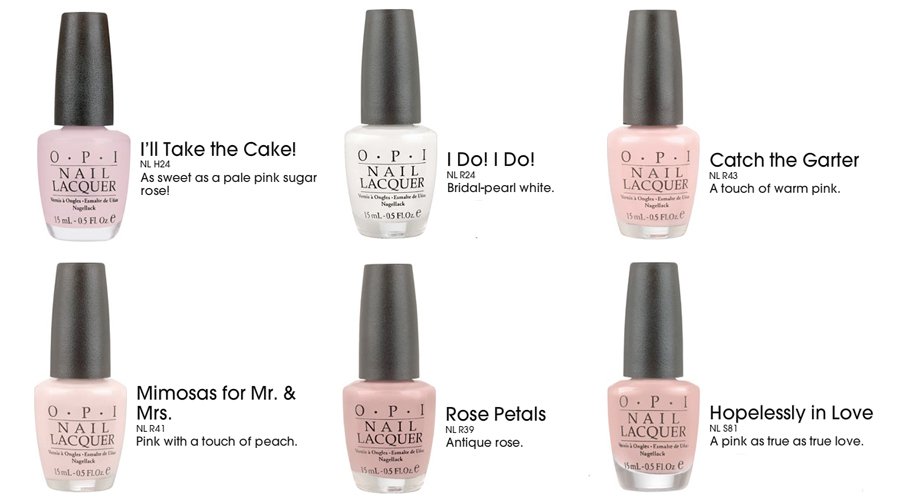 Wedding Nail Color - Shades That Add Romance ...