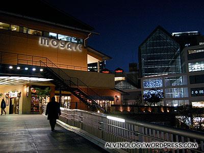 Mosaic shopping mall