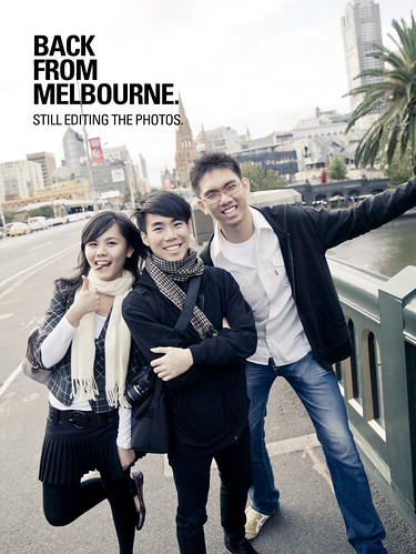 BACK FROM MELBOURNE 2