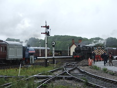 73129 at Swanwick Junction ( Claire ) Tags: signal signalbox swanwick midlandrailway 73129 swanwickjunction diseasal