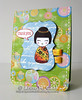 Asian Doll Thank You Card