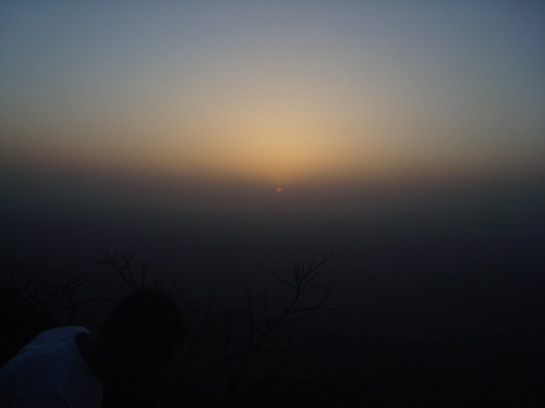 Sunset, Mt Abu