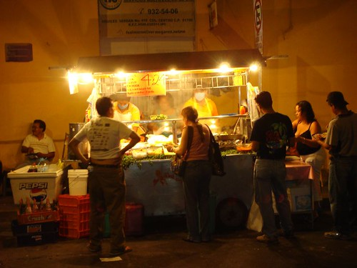 My favourite taco vendor in Veracruz.