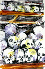 Skulls in the Killing Fields
