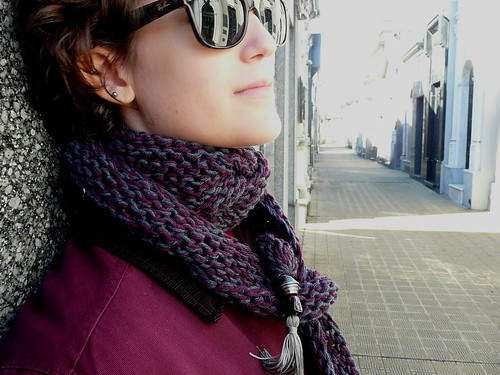 """la trendy"" scarf 1- take2"