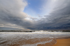 u (Paws2008) Tags: ocean sea sky clouds sand hamptons nikon you u nikkor easthampton d700 11937 14mm24mm vosplusbellesphotos 104oceanavenue