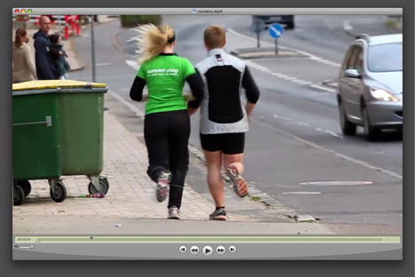 Runners clip, by Christian Carstensen with a Canon T1i / 500D