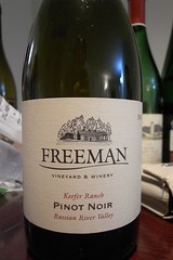 2005 Freeman Keefer Ranch Pinot Noir