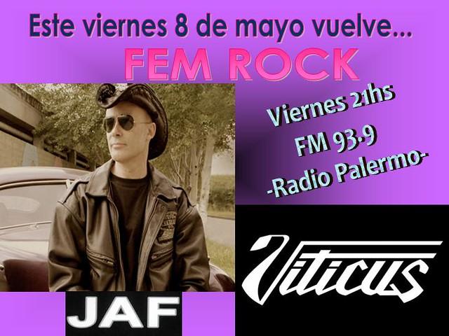Programa Viernes 8 de Mayo 09 by FEM RocK