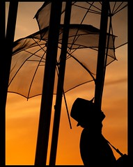 famous umbrellas (maios) Tags: camera travel sunset red color art hat silhouette metal umbrella greek photo europa europe flickr mediterranean photographer famous hellas greece macedonia thessaloniki fotografia salonica manikis maios lefteris iosif  heliography   zop zogolopoulos     zopidis              iosifmanikis