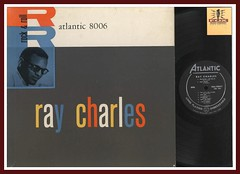 "Ray Charles ""Ray Charles Rock & Roll"" Atlantic Records 8006 Vinyl Record Album lp"