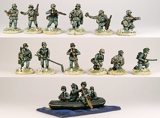 20mm Warmodelling German Assault Engineers (KURSK)
