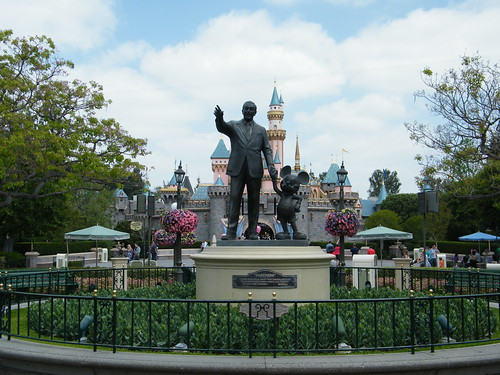Disneyland in Anaheim, CA