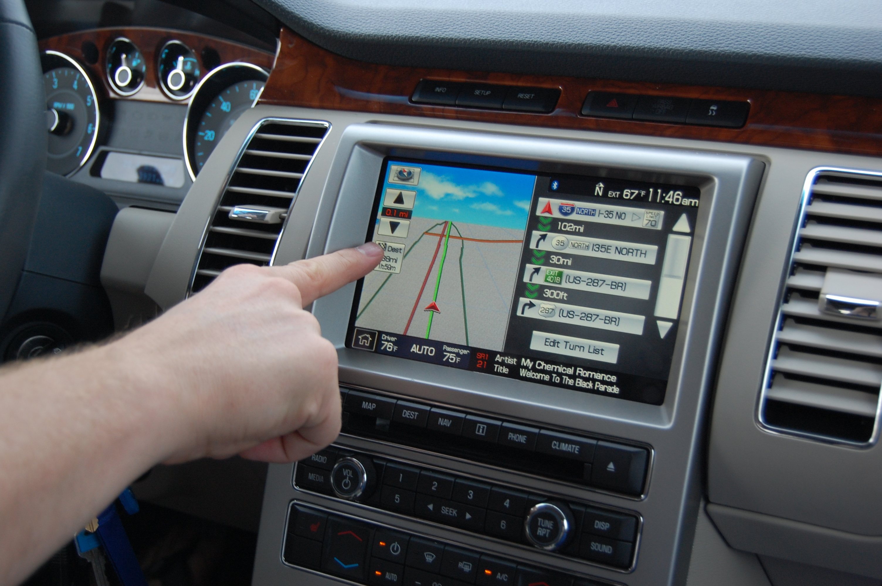 Automotive screens