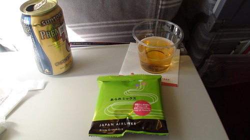 Premium Beer on JAL
