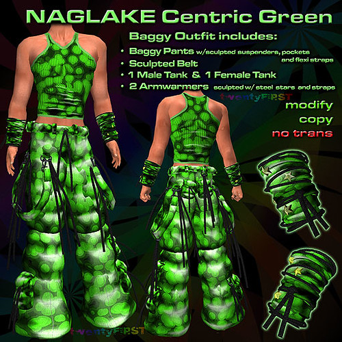 NAGLAKE Centric Green
