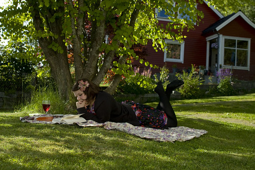 friday in the backyard
