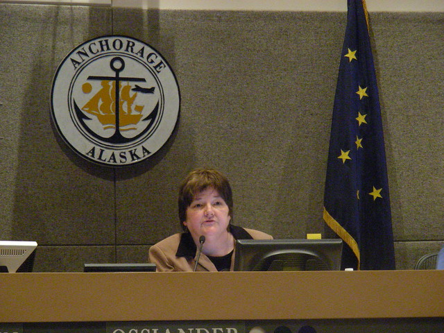 Debbie Ossiander, Assembly chair