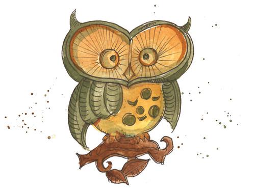 flea market owl