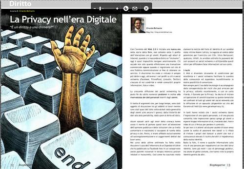 Articolo Blog Magazine