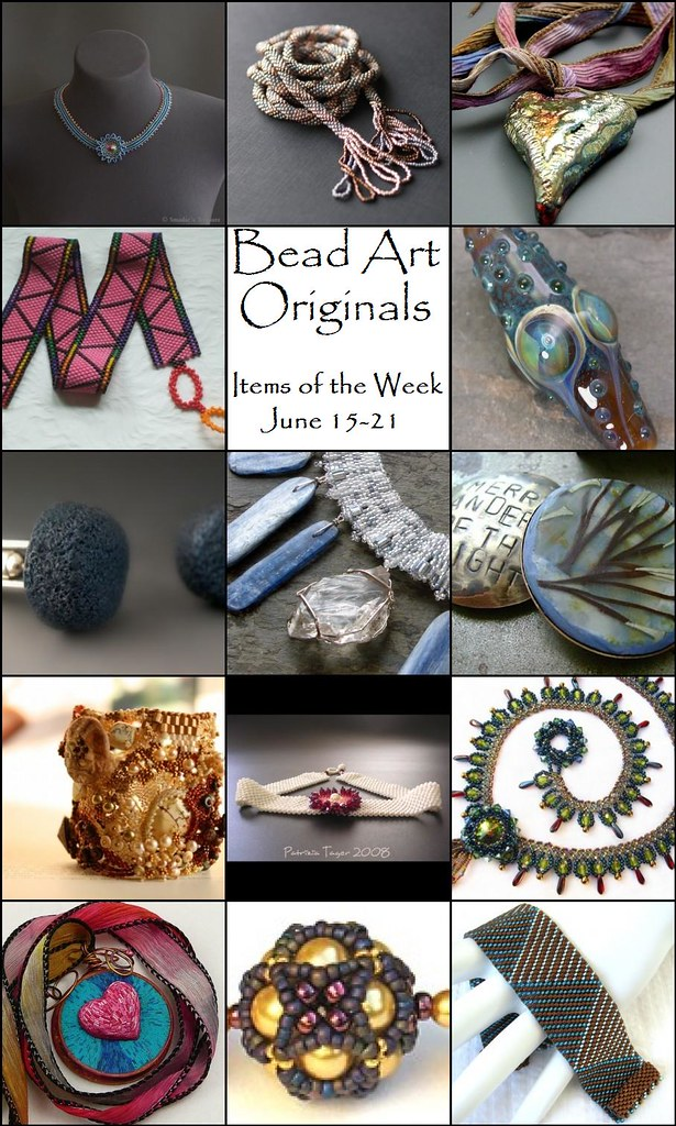 Bead Art Originals Items of the Week (6/15-6/21)