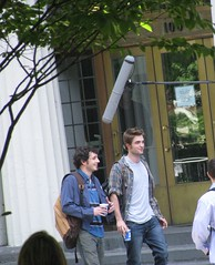 these are, for a change, all actually taken by me.  set of remember me 6.15.09 (cybermelli) Tags: new york city moon robert me june set movie de dawn eclipse photo crazy twilight remember candid rob edward nyu paparazzi fans emilie filming 2009 ravin breaking memoirs cullen pattinson