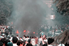 Green Protest. 4 (parseha) Tags: election iran protest iranian tehran vote  vanak     greenprotest