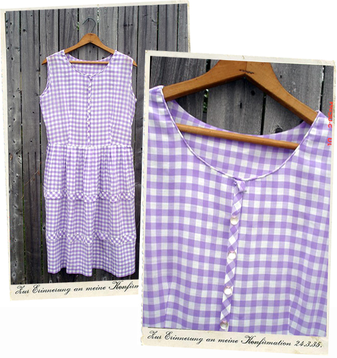 Gingham Dress from Chicken Dinner Candybar